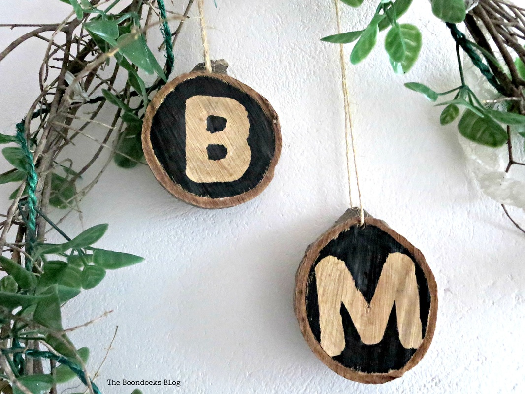 Wood sllices repurposed for year round use The Boondocks Blog