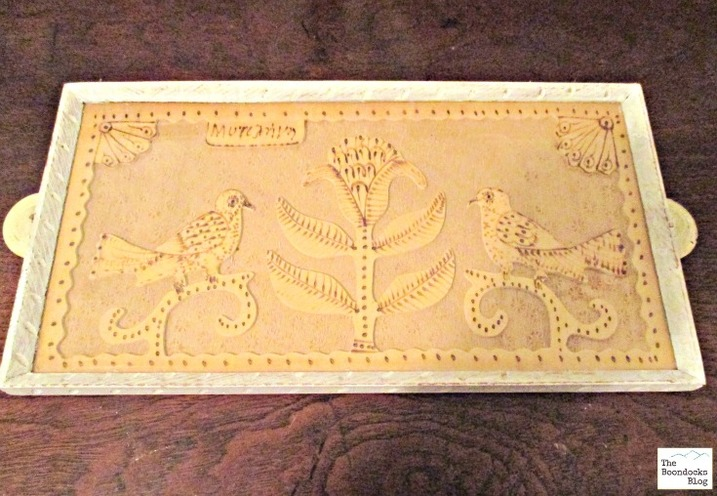 an old tray painted white, Hello everyone! - The Boondocks blog