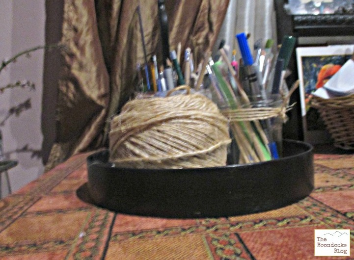 Black painted clock frame, Tick Tock No More - The Boondocks Blog