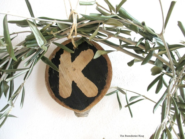 Wood slices re purposed for year round use The Boondocks Blog