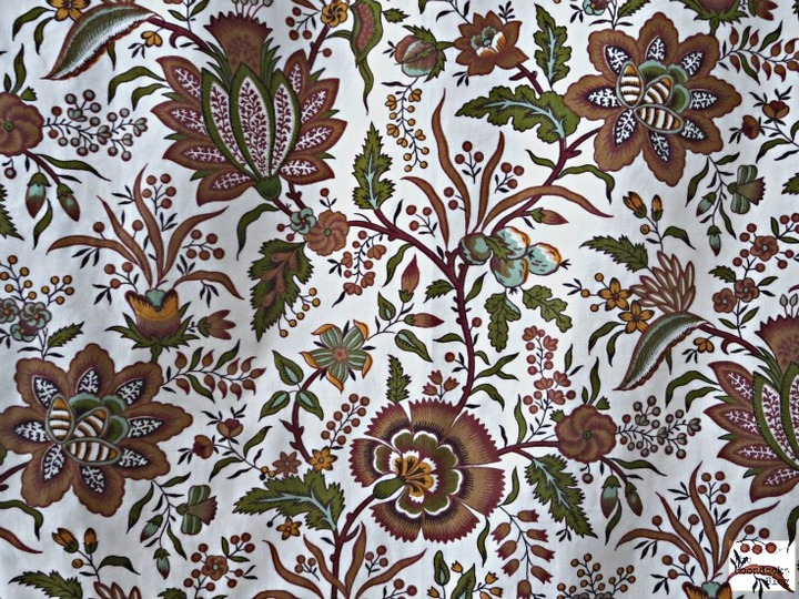Detail of fabric, Wall hanging - The Boondocks Blog
