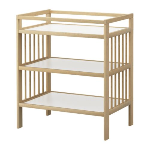 Gulliver changing table by Ikea, A Change for the Changing table - www.theboondocksblog.com