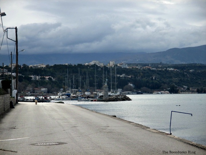to the marina, Morning walk by the beach - www.theboondocksblog.com