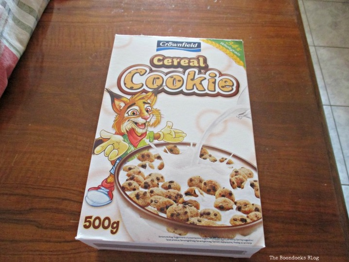 cereal box, untangling the wirew - www.theboondocksblog.com