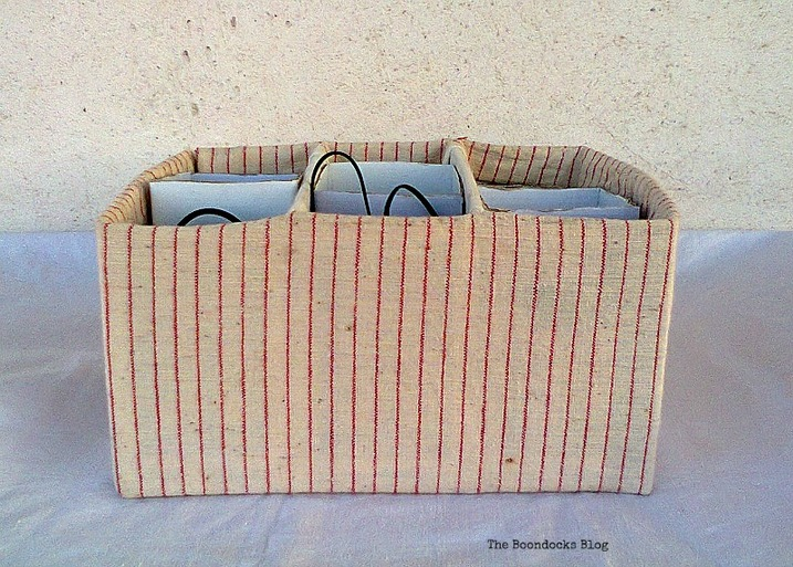 wire organizer , untangling the wires - www.theboondocksblog.com