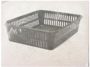 plastic basket sketch, Hamper Legs going the distance - www.theboondocksblog.com