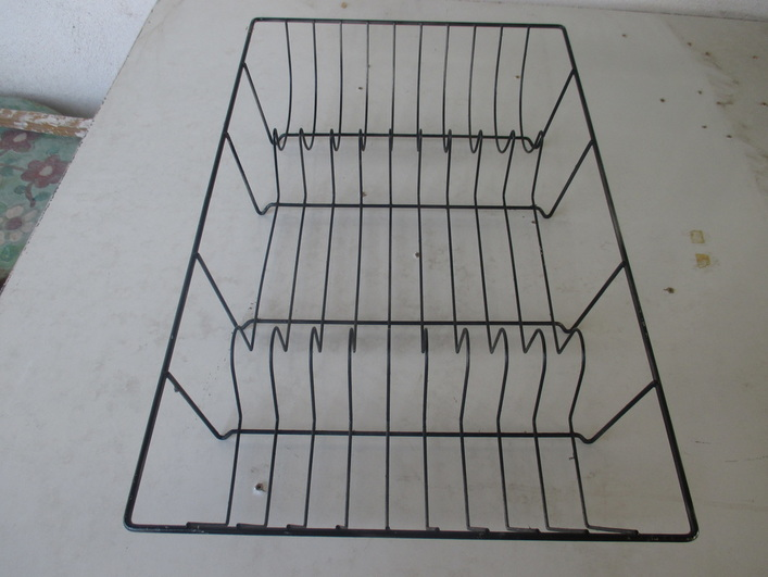 Wire dish rack - Wrapping up the wire dish rack - The Boondocks blog
