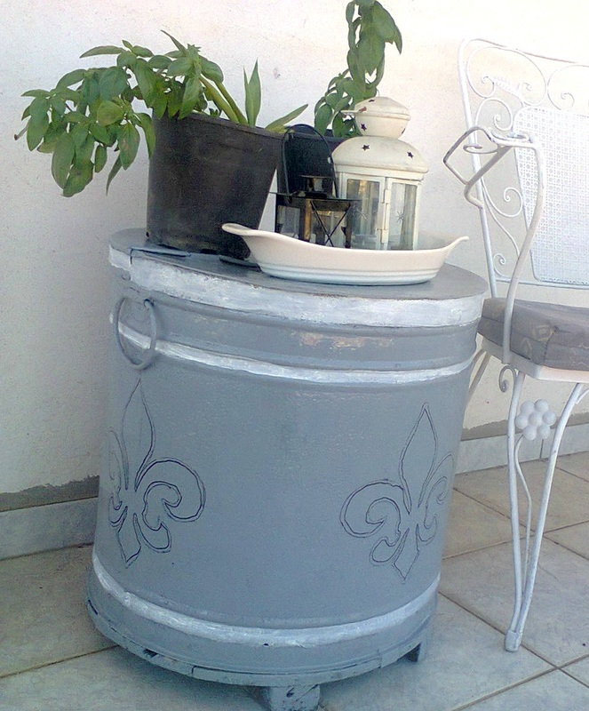 Revamped Olive Oil Barrels www.theboondocksblog.com