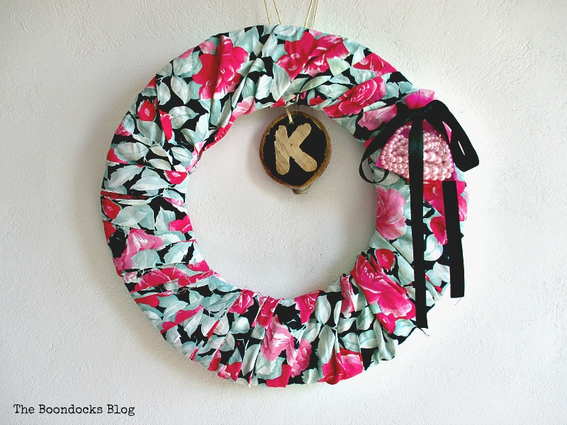 Pictur Colorful Summer Wreath www.theboondocksblog.come