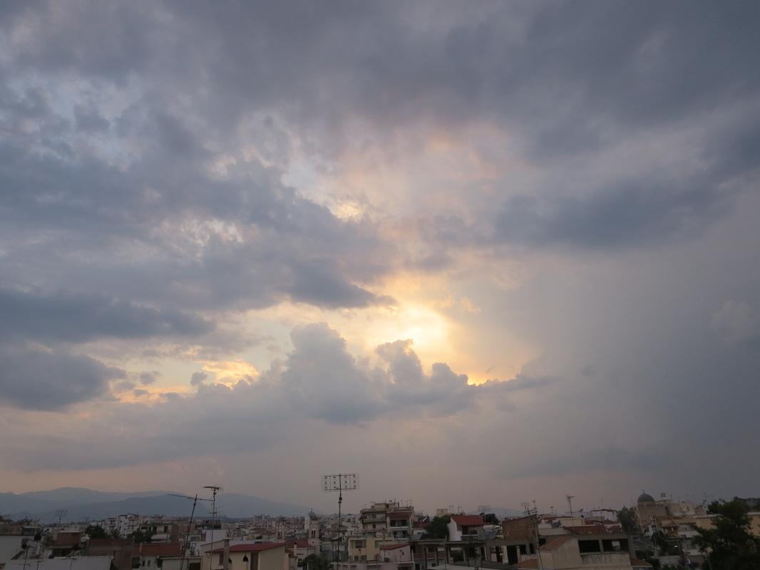 cloudy skies, Zeuses Wrath www.theboondocksblog.com