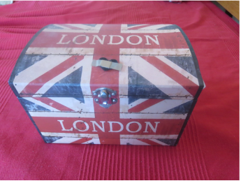 the british flag on box  The Anglophile Desk www.theboondocksblog.com