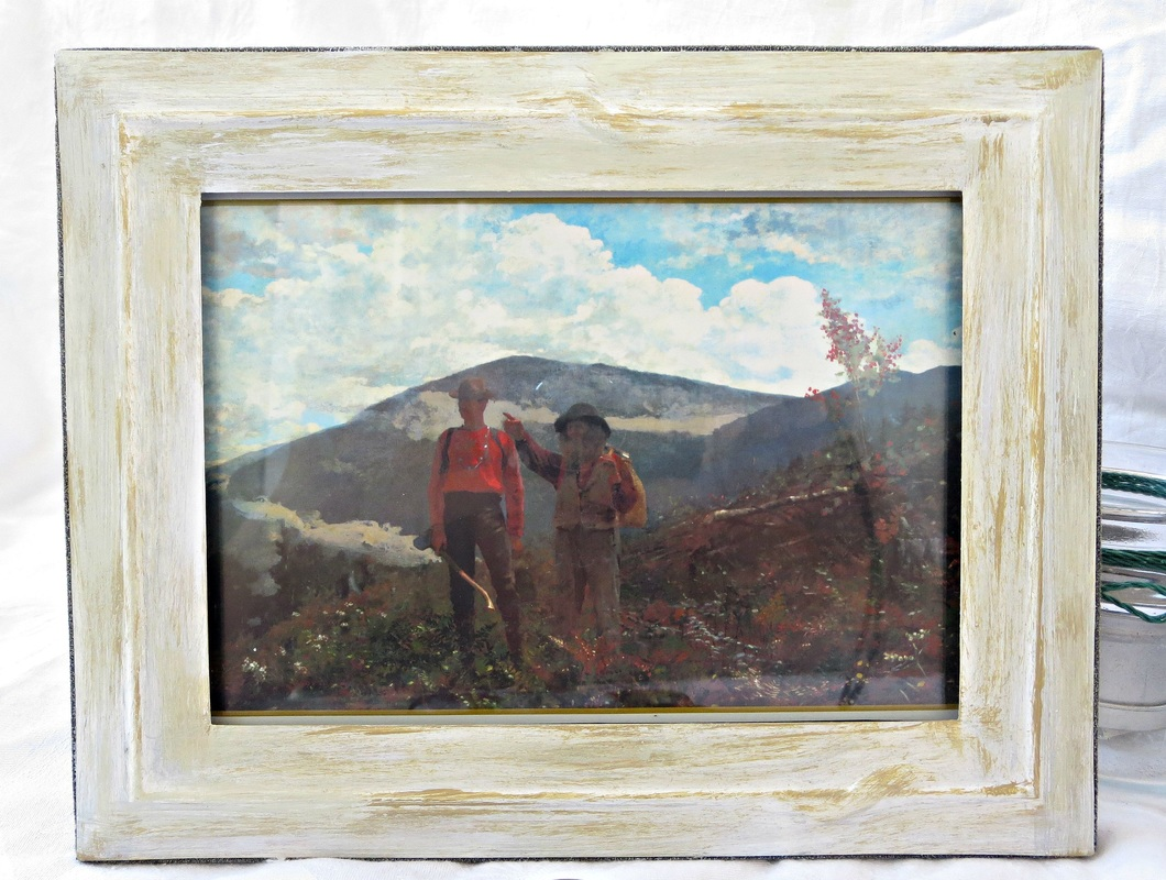 picture added to frame, Fixing the Frames www.theboondocksblog.com