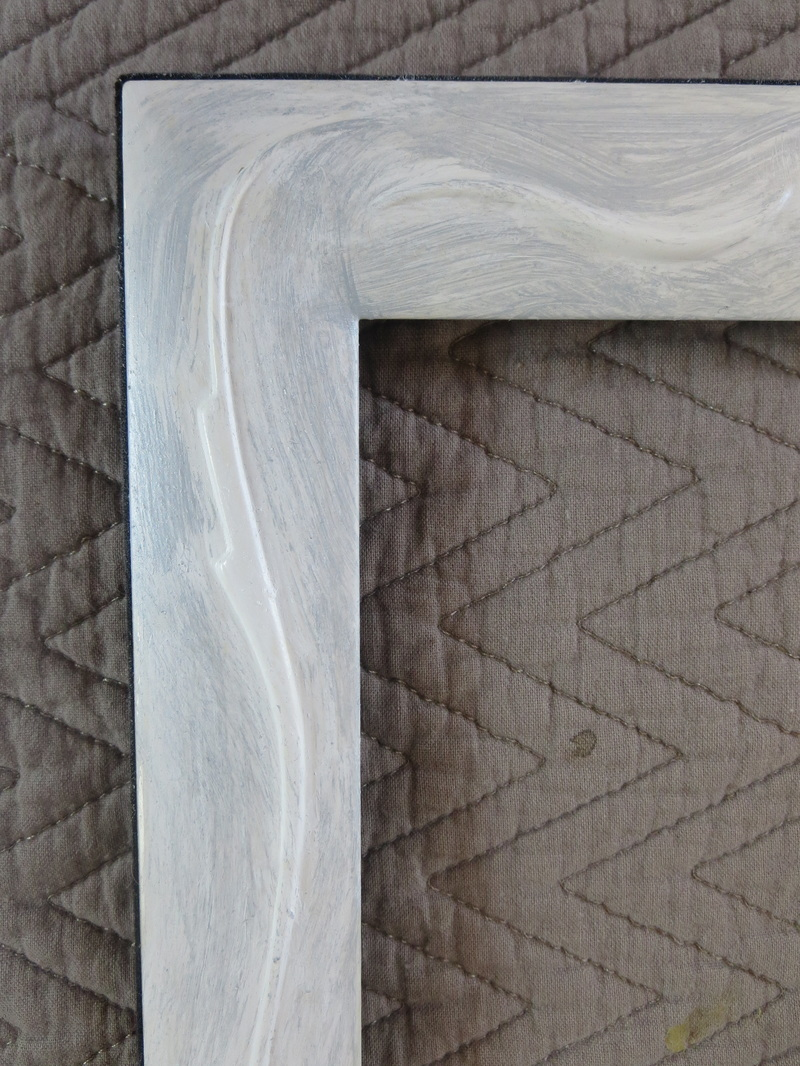 close up of silver white mixture, Fixing the Frames www.theboondocksblog.com