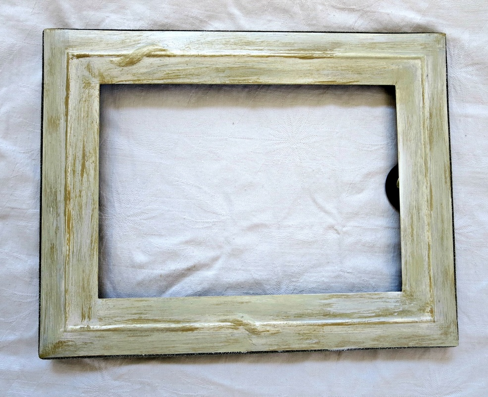 second frame with highlight color, Fixing the Frames www.theboondocksblog.com