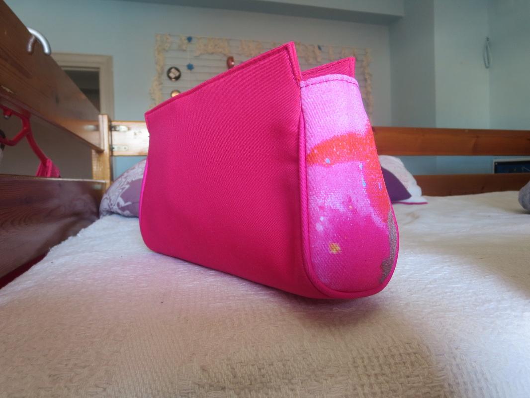 cosmetics bag,  The Cinderella Bag www.theboondocksblog.com