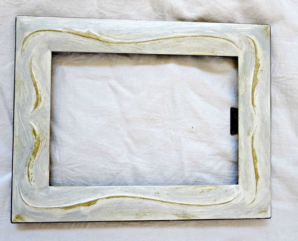 adding the highlight color to the frame, Fixing the Frames www.theboondocksblog.com