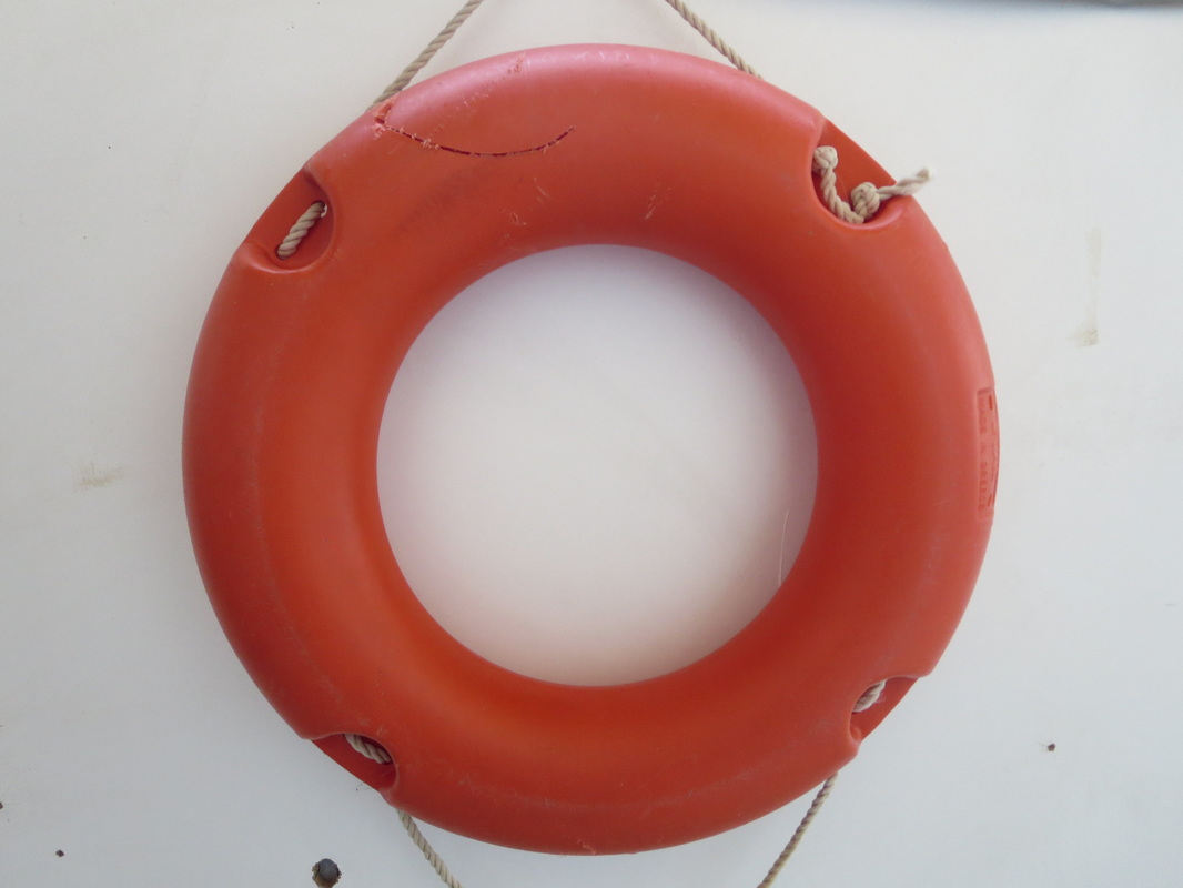 before repairing the lifesaver, Saving the Life Saver www.theboondocksblog.com