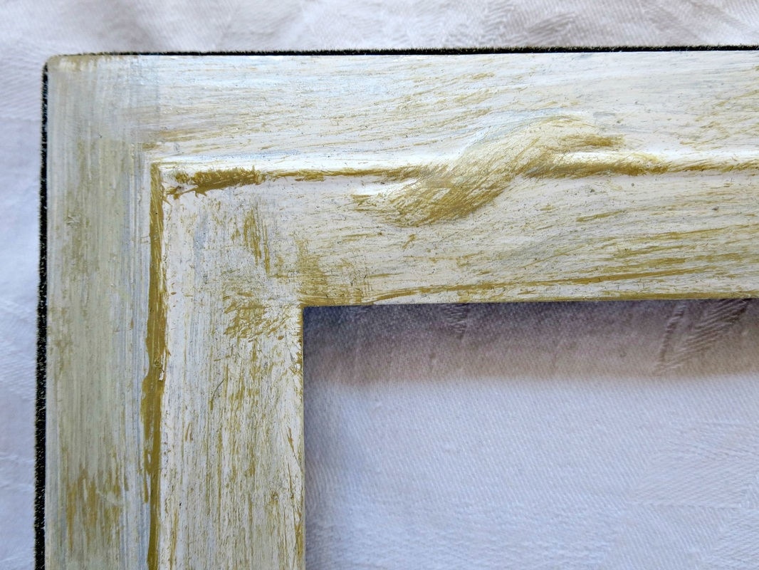 corner of frame, Fixing the Frames www.theboondocksblog.com