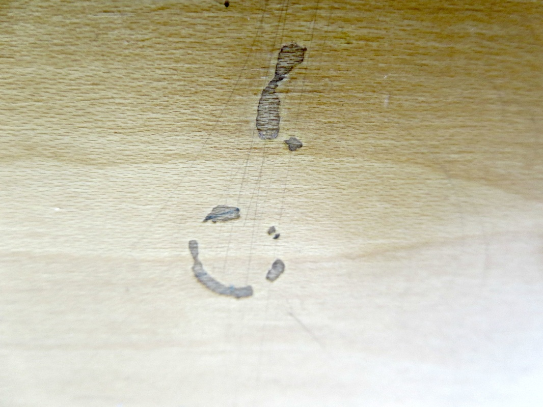 scratches on dresser, The Story of a Dresser www.theboondocksblog.com