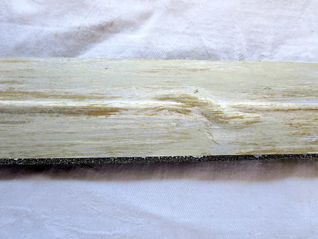 highlighted color distressed, Fixing the Frames www.theboondocksblog.com