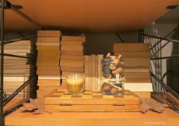 Wall Unit, chess board  The Overstuffed wall Unit, www.theboondocksblog.com