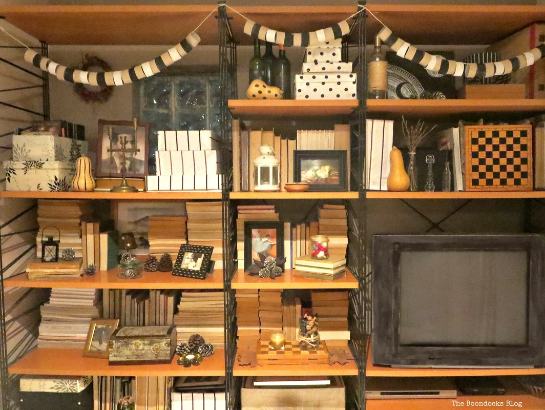 Wall Unit,  The Overstuffed wall Unit, www.theboondocksblog.com