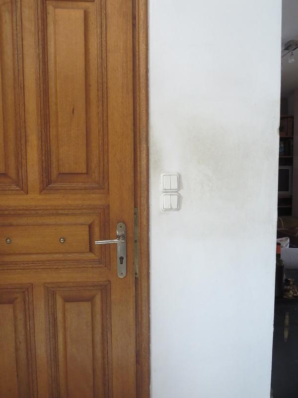 Wall before, Seeing black www.theboondocksblog.com