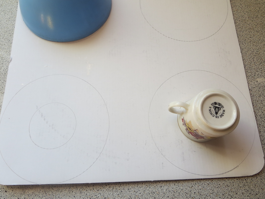 How to make Christmas Ornaments from Cardboard - The Boondocks Blog Alt