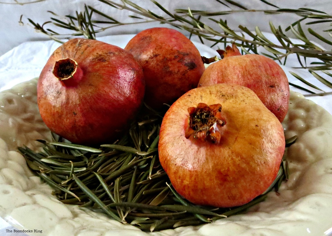 A pomegranate - Happy New Year - The Boondocks Blog
