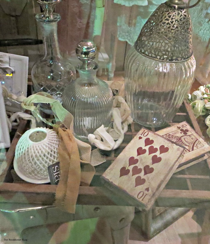 Vintage glass pieces, A bright night on the town - the boondocks blog