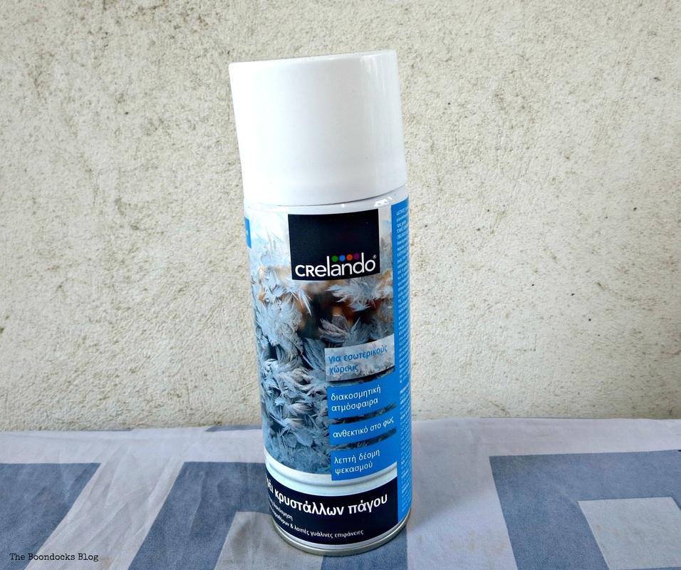 Crystal Ice Spray, The Snow Spray that wasn't - the boondocks blog