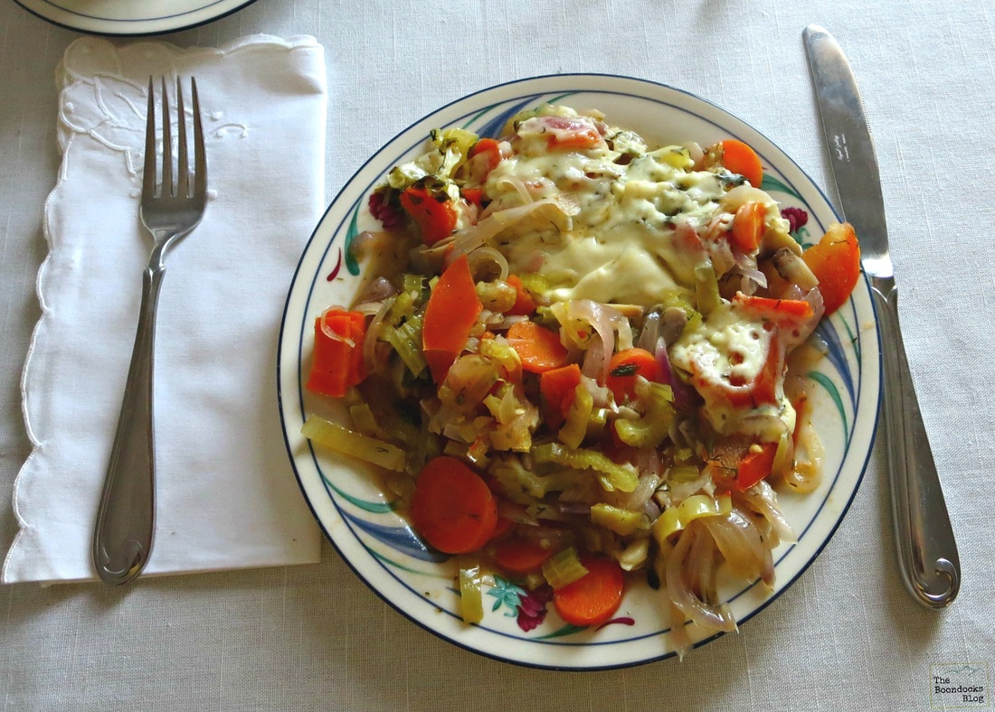 Vegetable Breakfast - Breakfast in Greece - the Boondocks Blog