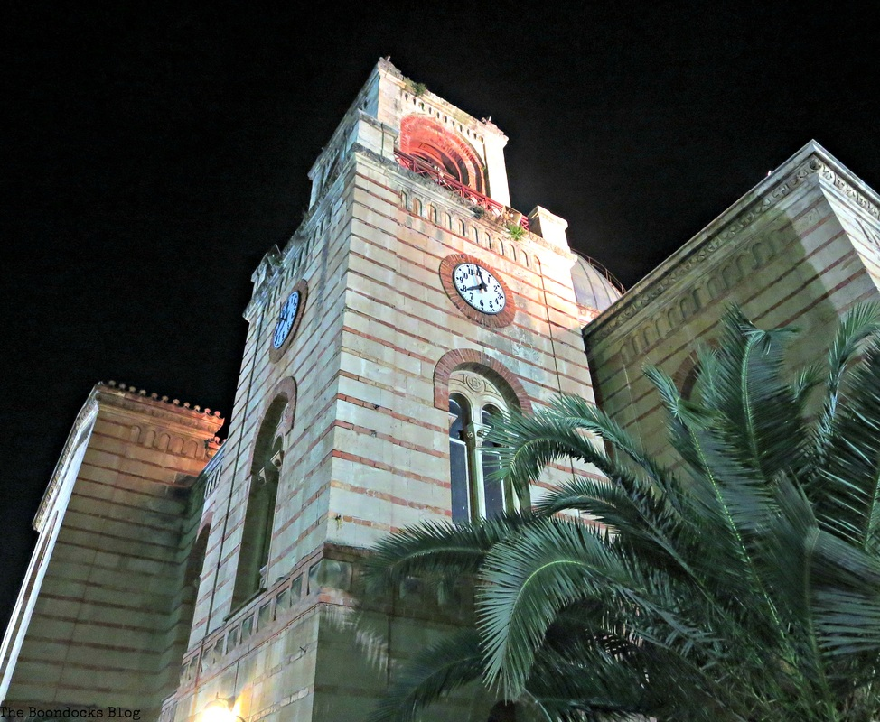 Bell Tower of the metropolitan church, A bright night on the town - The Boondocks blog