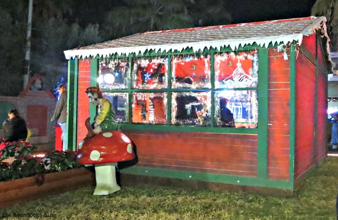 Santa's Workshop, Christmas Park- The Boondocks Blog