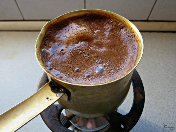 Greek coffee in Briki - Breakfast in Greece - The Boondocks Blog