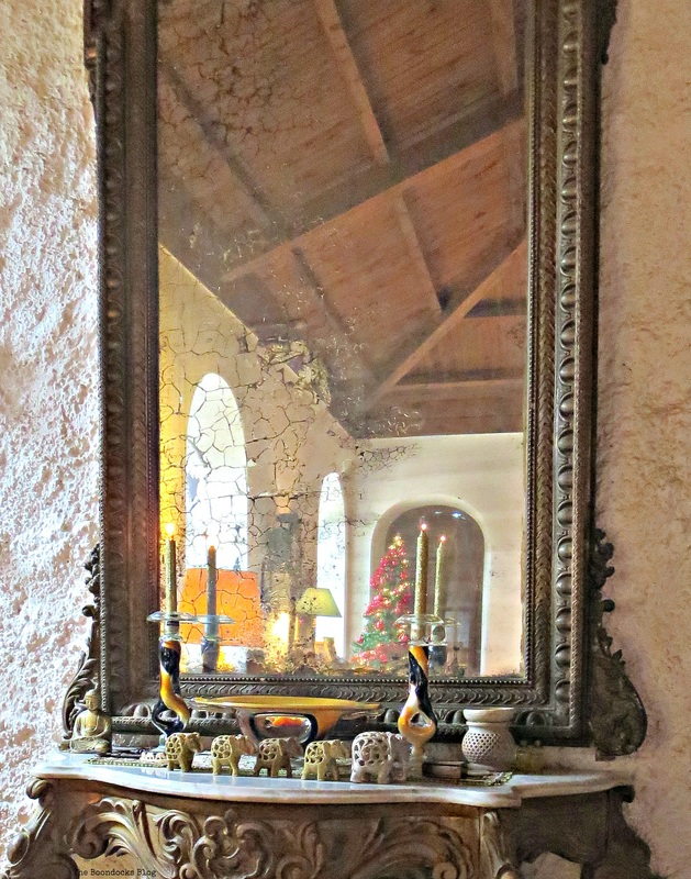 Large mirror, A house full of treasures, The Boondocks Blog