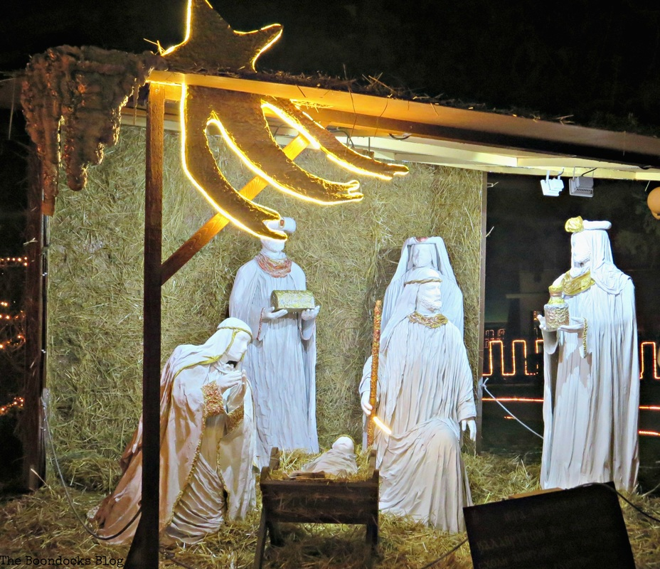 Nativity, Christmas Park - the Boondocks Blog