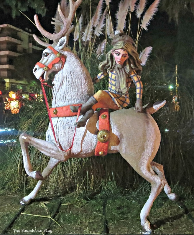 elf on horse, Christmas Park - The Boondocks Blog