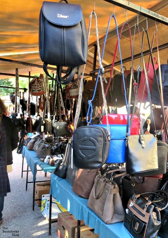 Handbag vendor, The People's Market - www.theboondocksblog.com