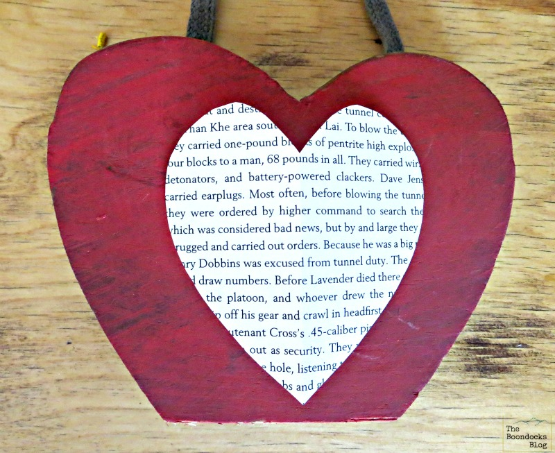 heart shaped paper on wood, What the heart hides - www.theboondocksblog.com
