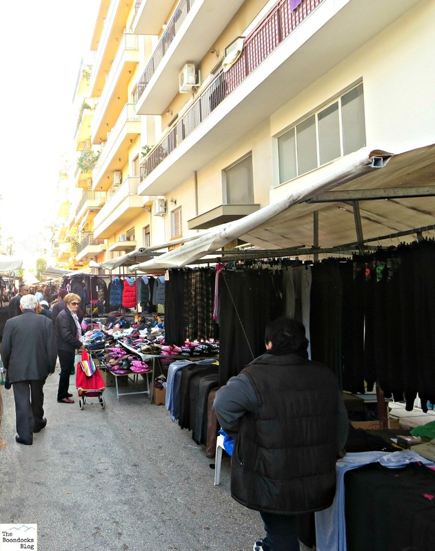 Stalls in t he street, The People's Market - www.theboondocksblog.com