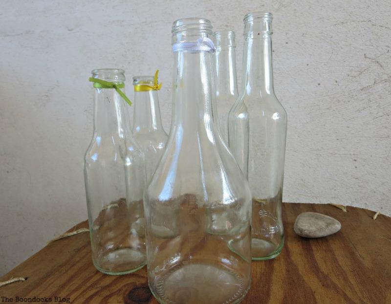 empty soy sauce bottles, My Spring Roll Bottles www.theboondocksblog.com