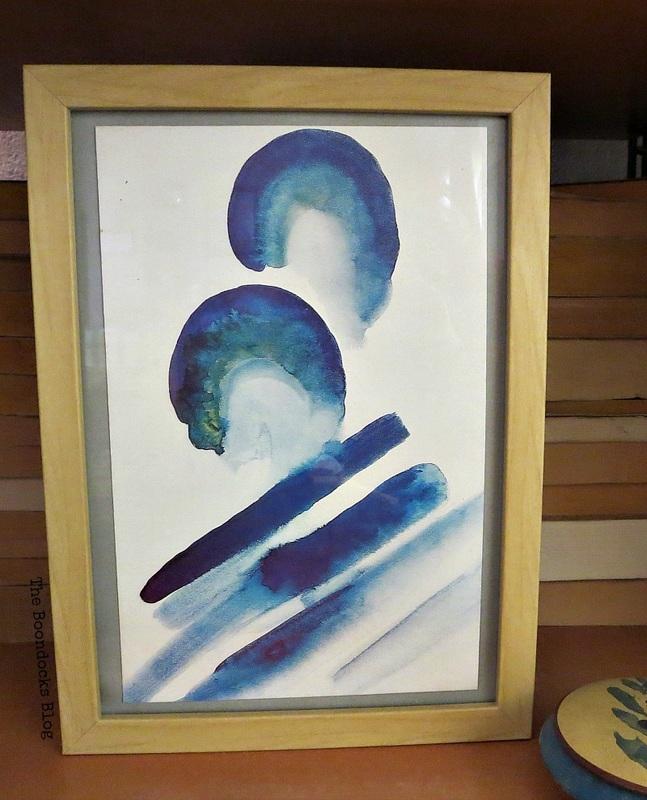 Artwork by Georgia O'Keeffe www.theboondocksblog.com