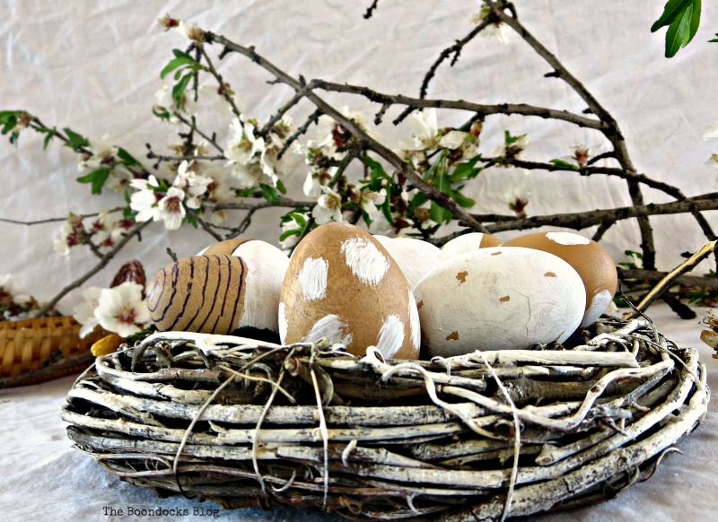 A nest for my rustic eggs www.theboondocksblog.com