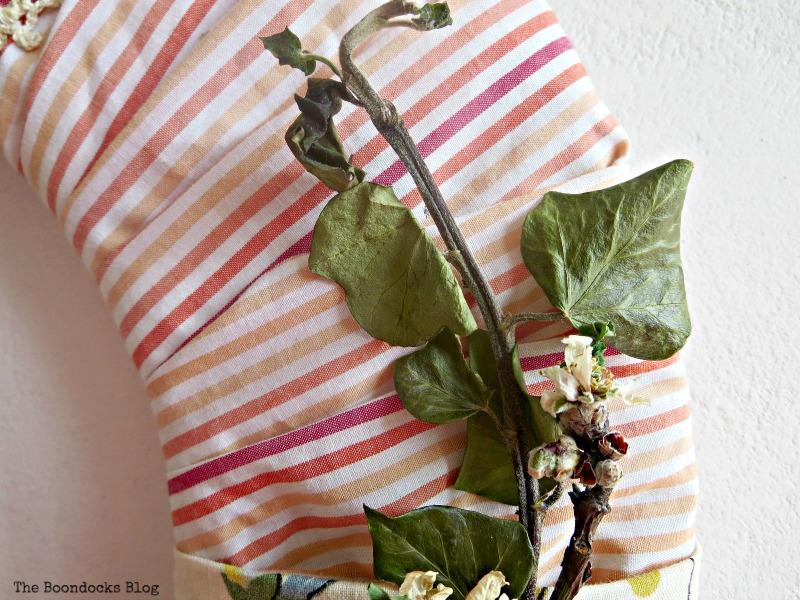 Striped Fabric, DIY My Spring - www.theboondocksblog.com