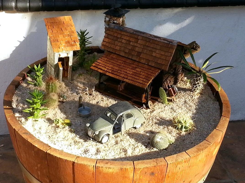A fairy garden A Crafty Mix