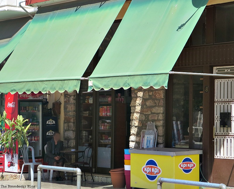 All in One shop, Shopping in Greece - Int'l Bloggers Club Challenge www.theboondocksblog.com