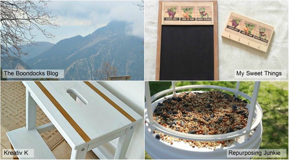 Collage of hostesses projects, Sweet Inspiration #2 www.theboondocksblog.com