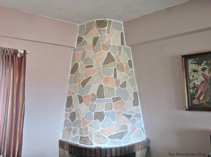The Long Overdue Fireplace makeover www.theboondocksblog.com