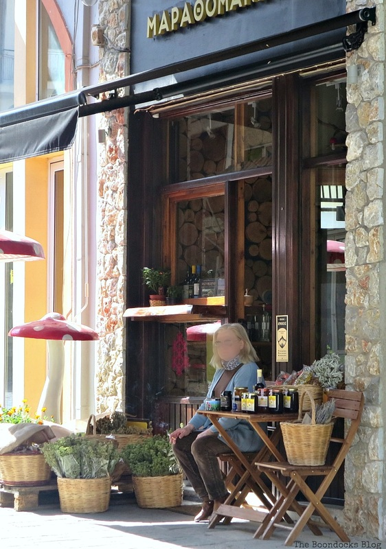 Health Food Store Shopping in Greece - Int'l Bloggers Club Challenge www.theboondocksblog.com
